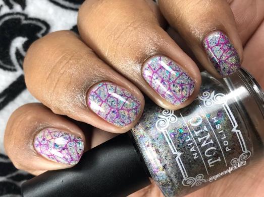 Verklempt - w/ nail art