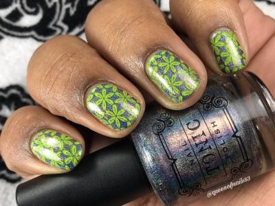 Extra-ORD-inary - w/ nail art