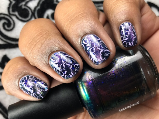 Helpless - w/ nail art