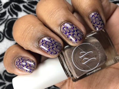Suede Safari - LE - w/ nail art