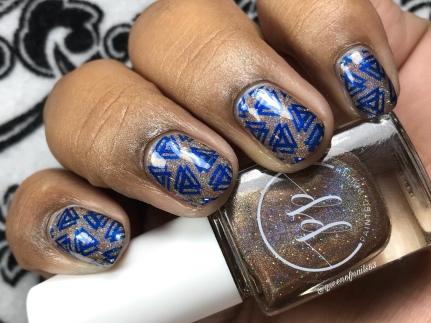 Taupe Temptation - w/ nail art