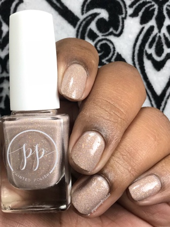 Tickled Taupe - w/ glossy tc