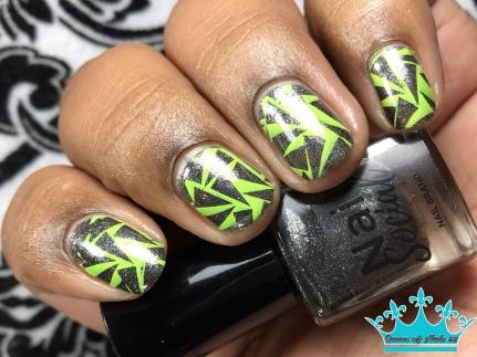 Starry Nights - w/ nail art