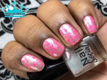 XOXO - w/ nail art