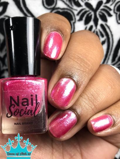 Pink Ice - w/ glossy tc