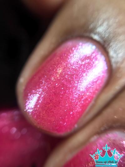 Pink Ice - macro