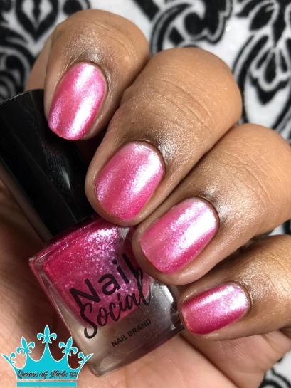 Pink Ice - w/ matte tc