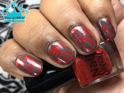 1,000 Roses - w/ nail art