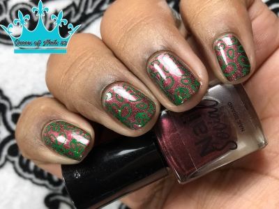 Love & Affection - w/ nail art
