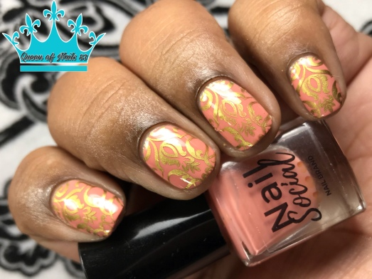 Make Him Blush - w/ nail art