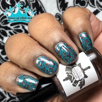 The Posh Boy and the Dominatrix - w/ nail art