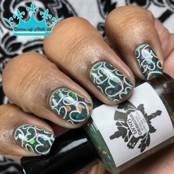Better Class of Criminal - w/ nail art