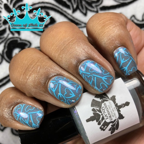 By the Pricking of My Thumbs - w/ nail art