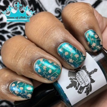 Sherlock the Dragon Slayer - w/ nail art