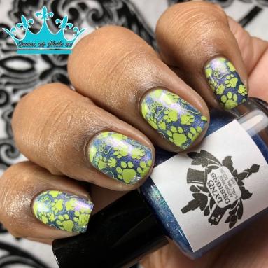 Solve Me A Crime, Sherlock Holmes - w/ nail art