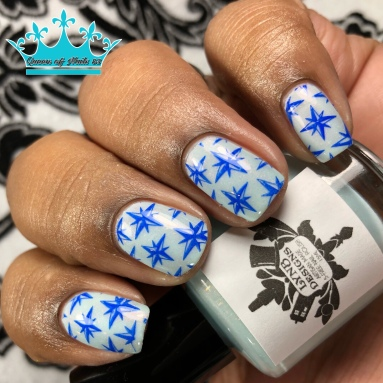 I Don't Shave for Sherlock Holmes - w/ nail art