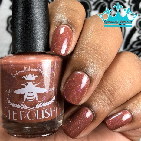 "LE Polish - ""Laws Are Not Enough"" - w/ glossy tc"