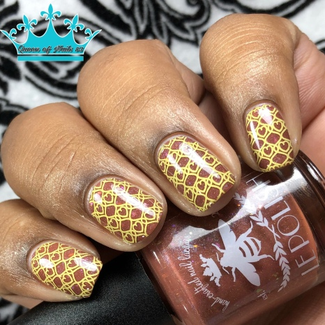 "LE Polish - ""Laws Are Not Enough"" - w/ nail art"