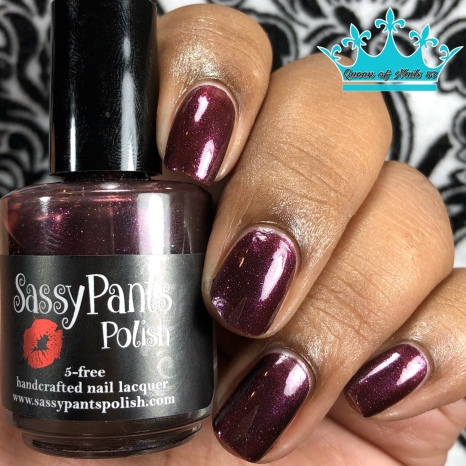 "Sassy Pants Polish - ""Stewards of the Earth"" - w/ glossy tc"
