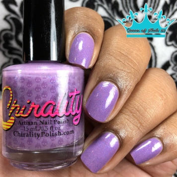 """Chirality Polish - """"Be Their Voice"""" - w/ glossy tc"""