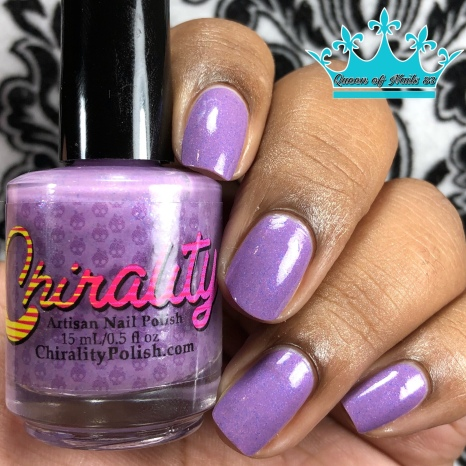 "Chirality Polish - ""Be Their Voice"" - w/ glossy tc"