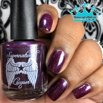 Supernatural Lacquer - What Fools These Mortals Be w/ glossy tc