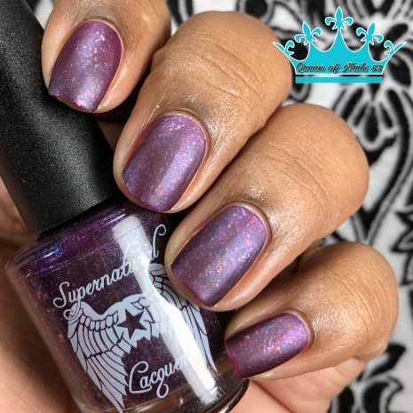 Supernatural Lacquer - What Fools These Mortals Be w/ matte tc