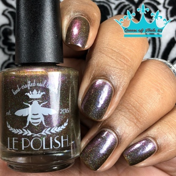 Le Polish - Love Is an Act of Nature w/ glossy tc