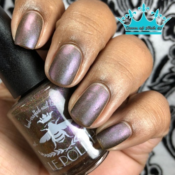 Le Polish - Love Is an Act of Nature w/ matte tc