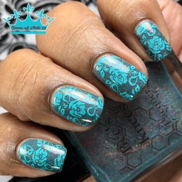Succa for Flakies - w/ nail art