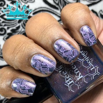 Blorange - w/ nail art