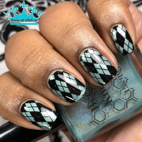Pointed of Teeth - w/ nail art