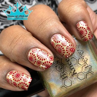 Mistress of Dread - w/ nail art