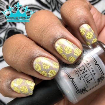 Chasing Concrete - w/ nail art