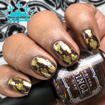Butterfly Leaf - w/ nail art