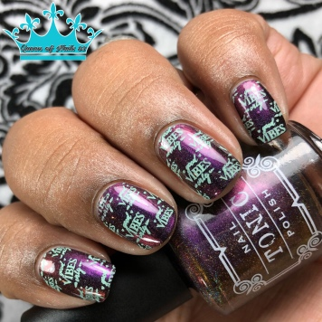 Taffeta - w/ nail art