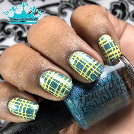 The Peacock Queen - w/ nail art