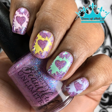 Changeling - w/ nail art
