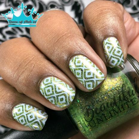 Dewdrop - w/ nail art