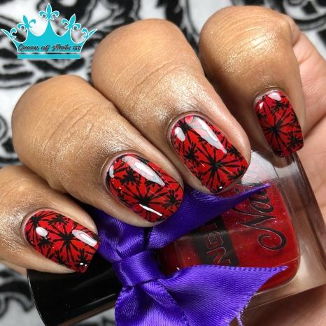 Mars - w/ nail art