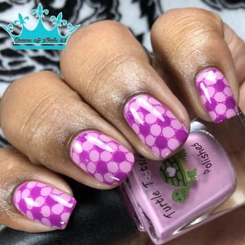 Don't Touch My Stuff! - w/ nail art
