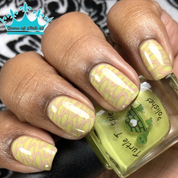 Crumbs In The Butter - w/ nail art