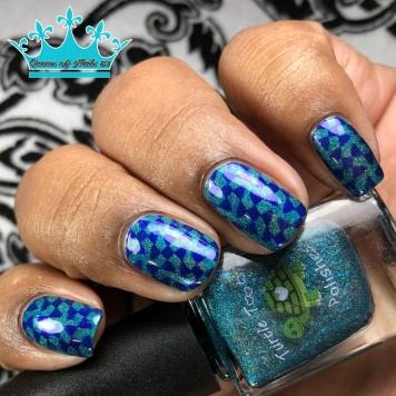 Turtle Tootsie - This Night Belongs to Polish - w/ nail art