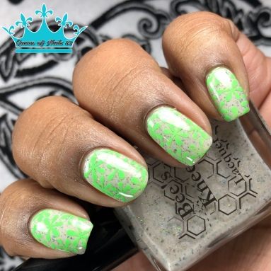 Cozy in There? - w/ nail art