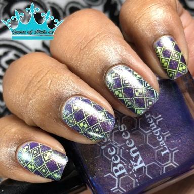 Skydancer - w/ nail art