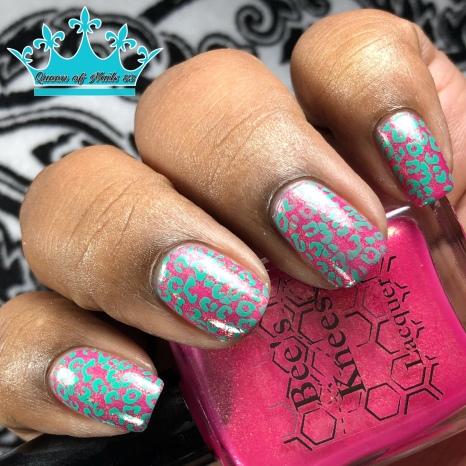 Sunriser - w/ nail art