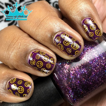 Professor Plum - w/ nail art