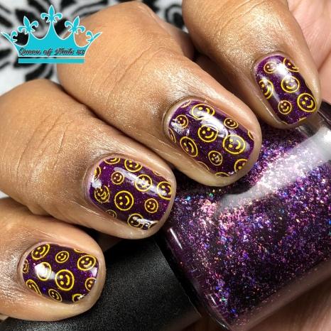 Professor Plum - w/ nail art