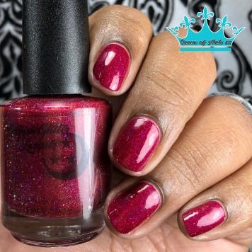 Miss Scarlet - w/ glossy tc