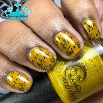 Colonel Mustard - w/ nail art